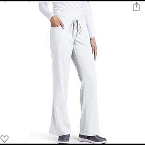 Greys anatomy size XL petite white scrub bottoms